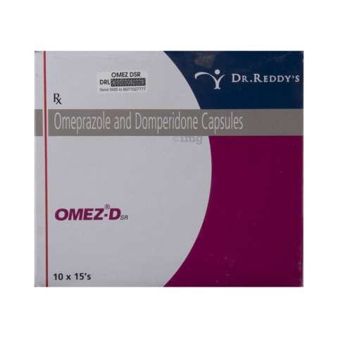 Omez-Dsr Capsule: View Uses, Side Effects, Price and