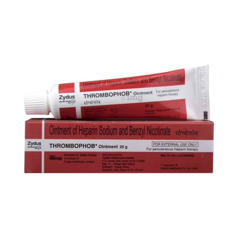 What is heparin ointment for
