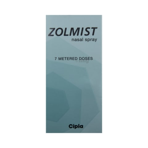 Zolmist 5 Mg Nasal Spray View Uses Side Effects Price And