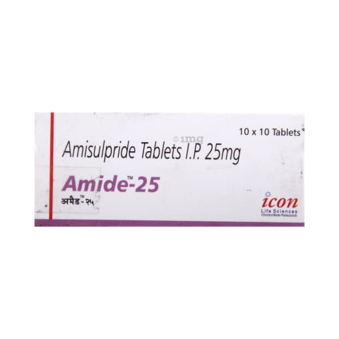 Amide 25 Tablet: View Uses, Side Effects, Price and