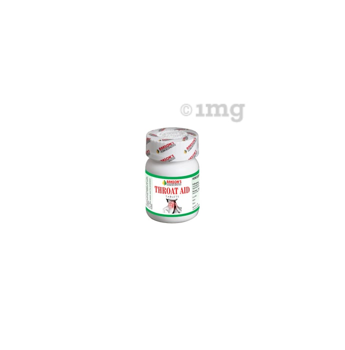 Bakson's Throat Aid Tablet