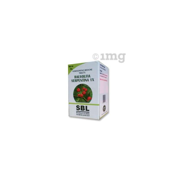 SBL Rauvolfia Serpentina Tablet 1X