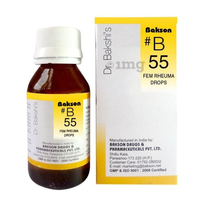 Bakson's B55 Fem Rheuma Drop