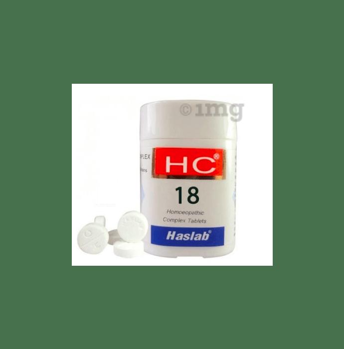 Haslab HC 18 Ledum Complex Tablet