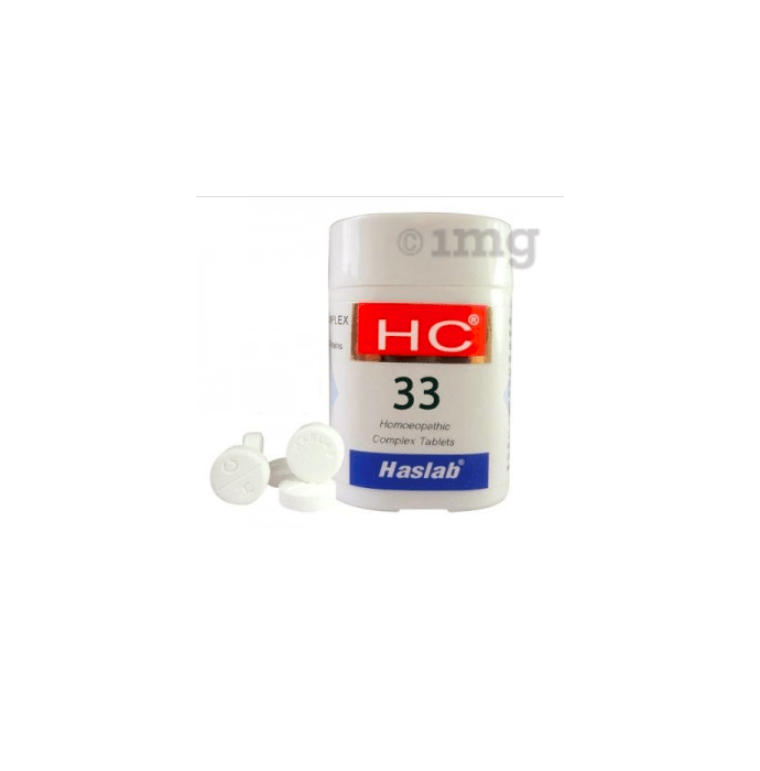Haslab HC 33 Veratrum Complex Tablet