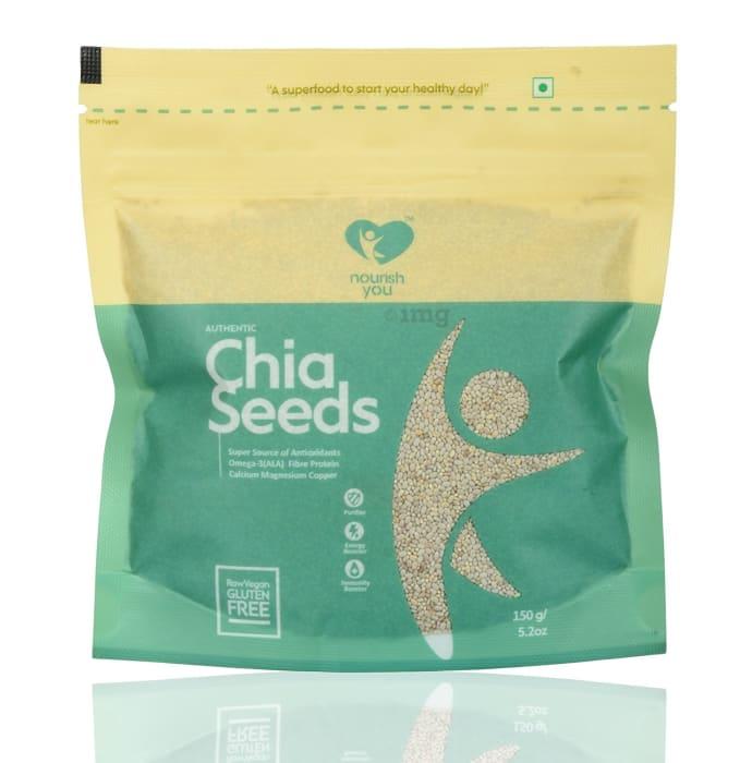 Nourish You Organic White Chia Seeds