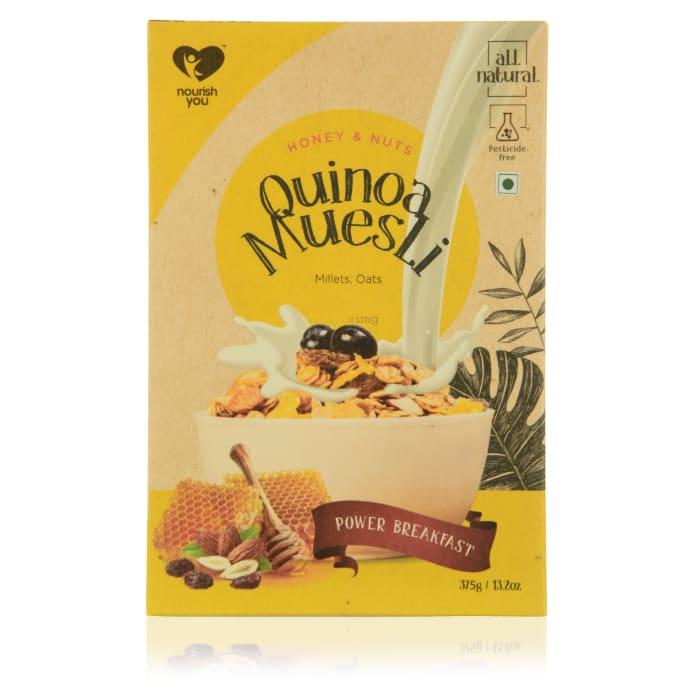 Nourish You Quinoa Muesli - Honey and Nuts