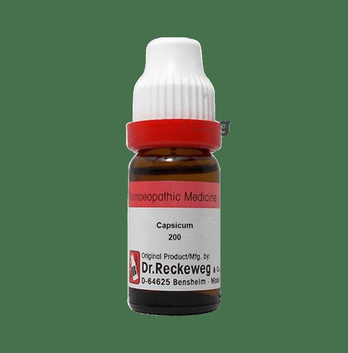 Dr. Reckeweg Capsicum Dilution 200 CH
