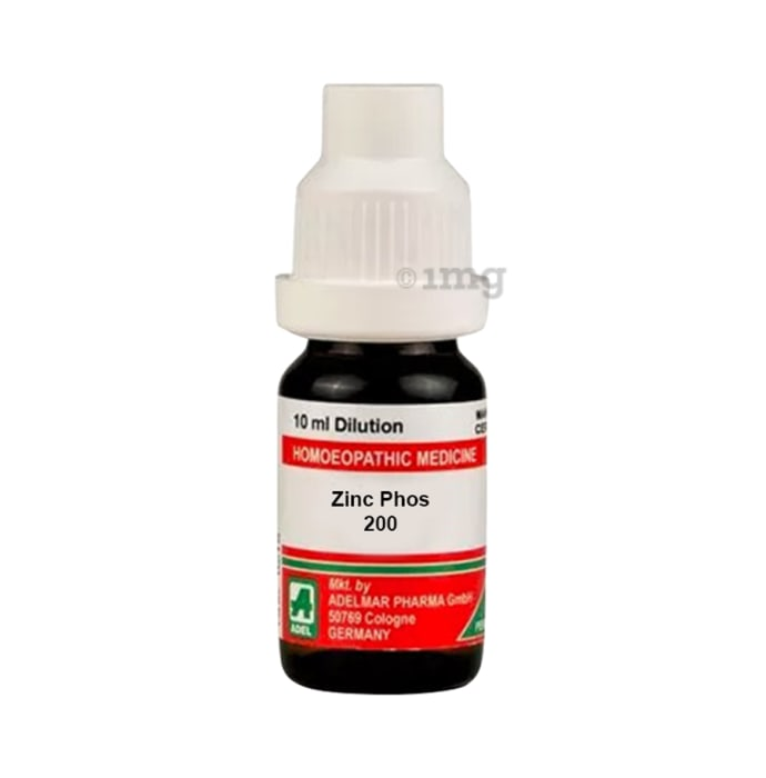 ADEL Zinc Phos Dilution 200 CH