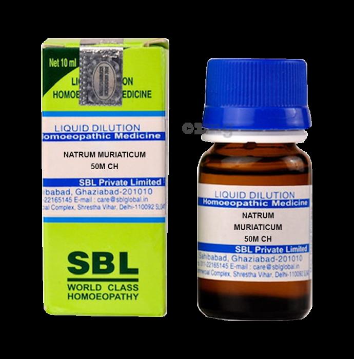 SBL Natrum Muriaticum Dilution 50M CH