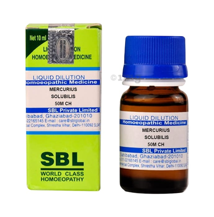 SBL Mercurius Solubilis Dilution 50M CH