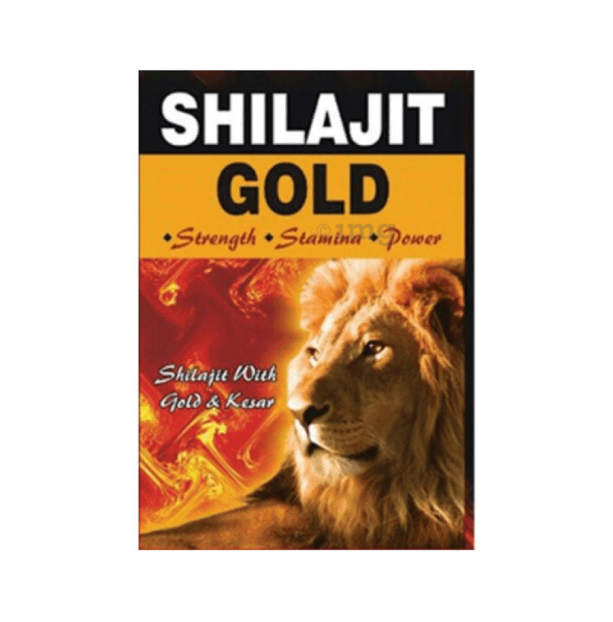 G & G Pharmacy Shilajit Gold Capsule