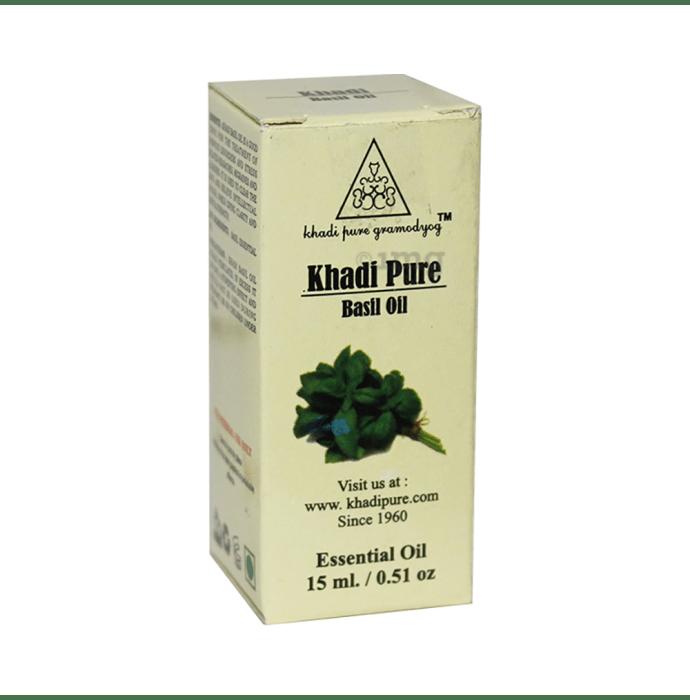 Khadi Pure Herbal Basil Essential Oil