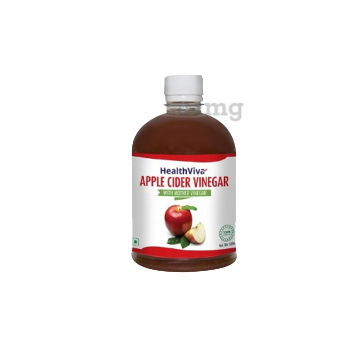 HealthViva Apple Cider Vinegar with Mother Vinegar
