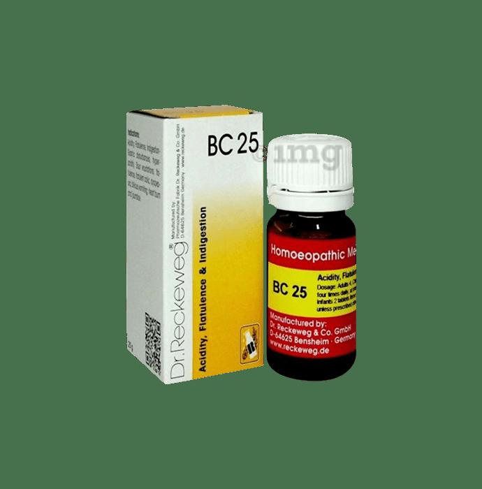 Dr. Reckeweg Bio-Combination 25 (BC 25) Tablet