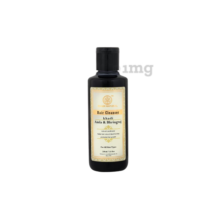 Khadi Naturals Herbal Amla Bhringraj Hair Cleanser