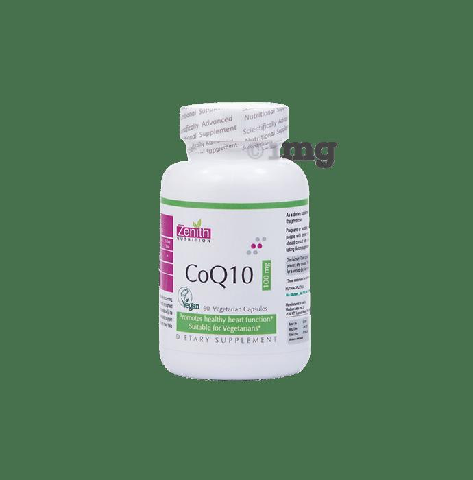 Zenith Nutrition Coq10 100mg Capsule