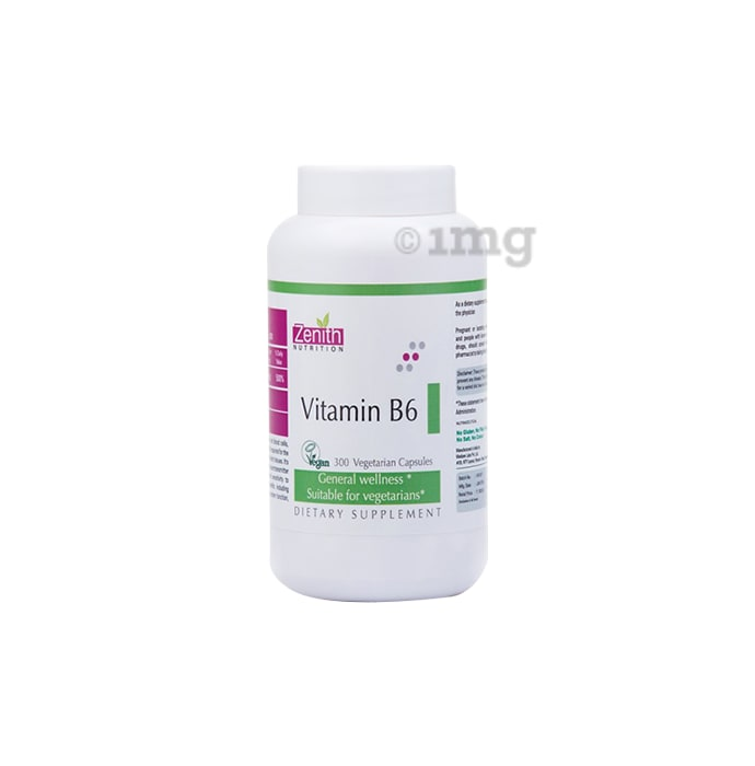 Zenith Nutrition Vitamin B6 Capsule