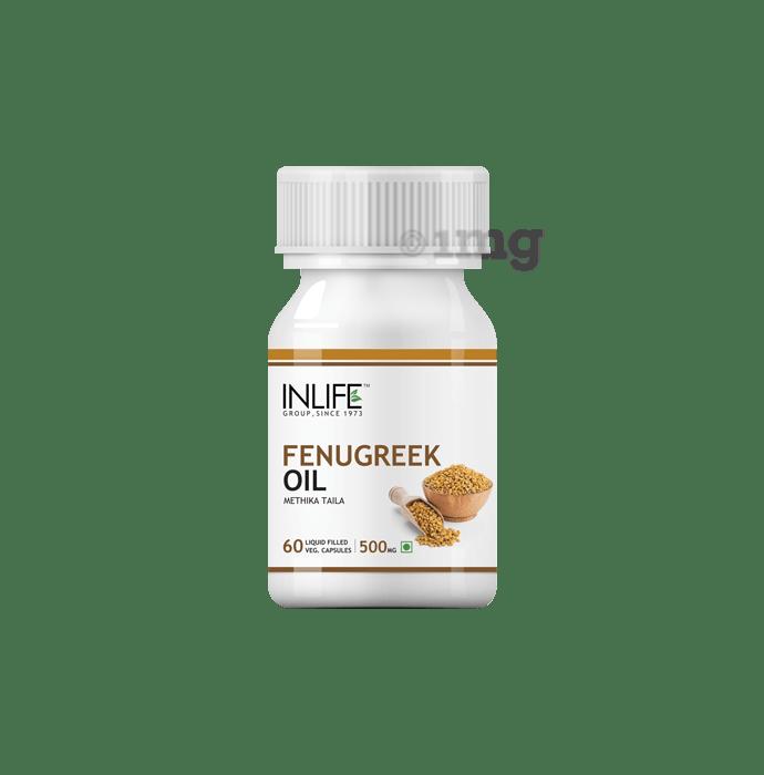 Inlife Fenugreek Oil Capsule