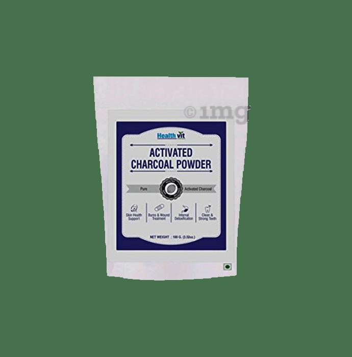 HealthVit Activated Charcoal Powder