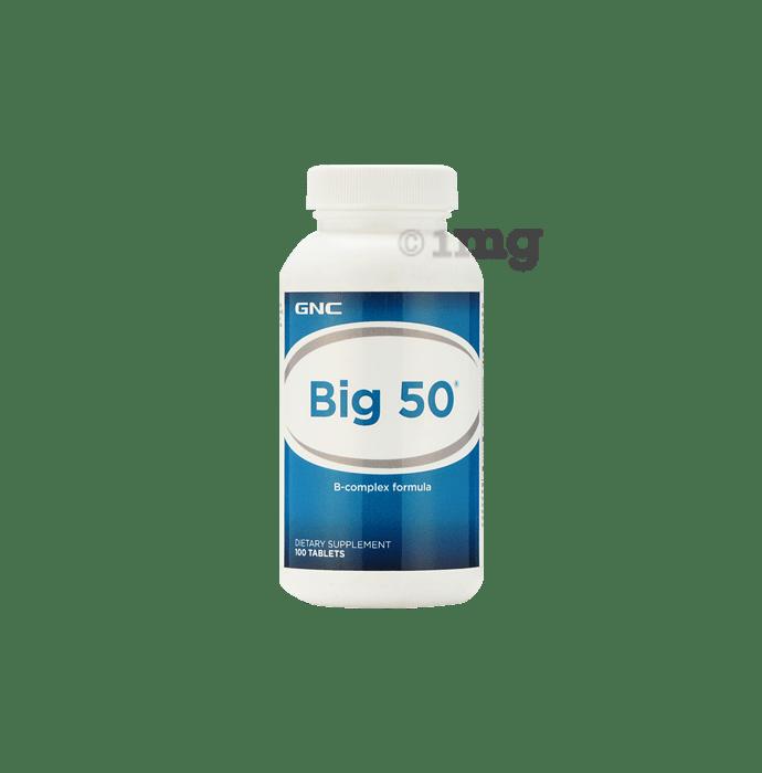 GNC Big 50 B-Complex Formula Tablet