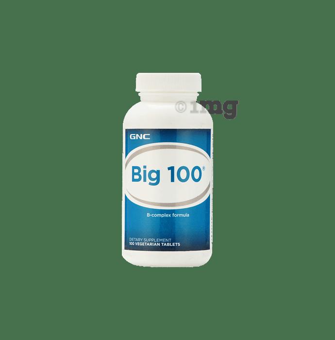 GNC Big 100- B Complex Formula Tablet