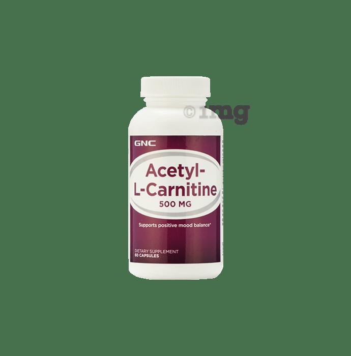 GNC Acetyl-L-Carnitine 500mg Capsule