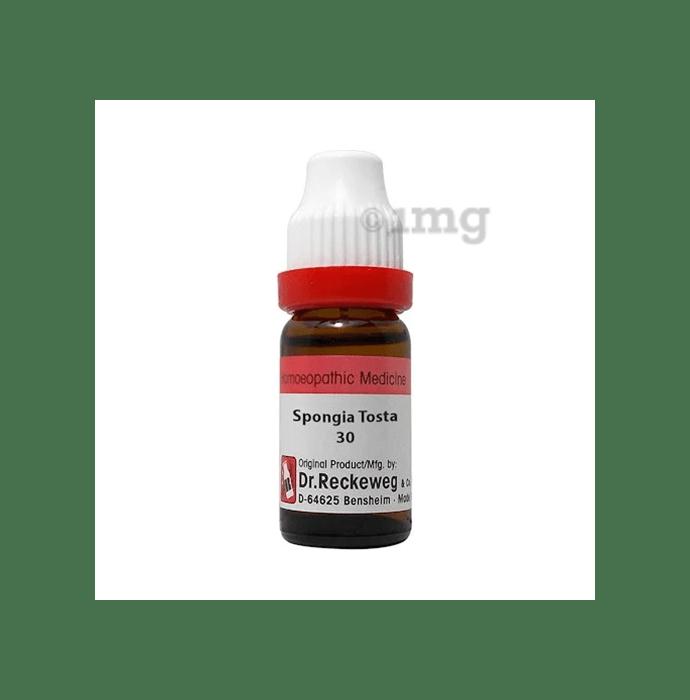 Dr. Reckeweg Spongia Tosta Dilution 30 CH
