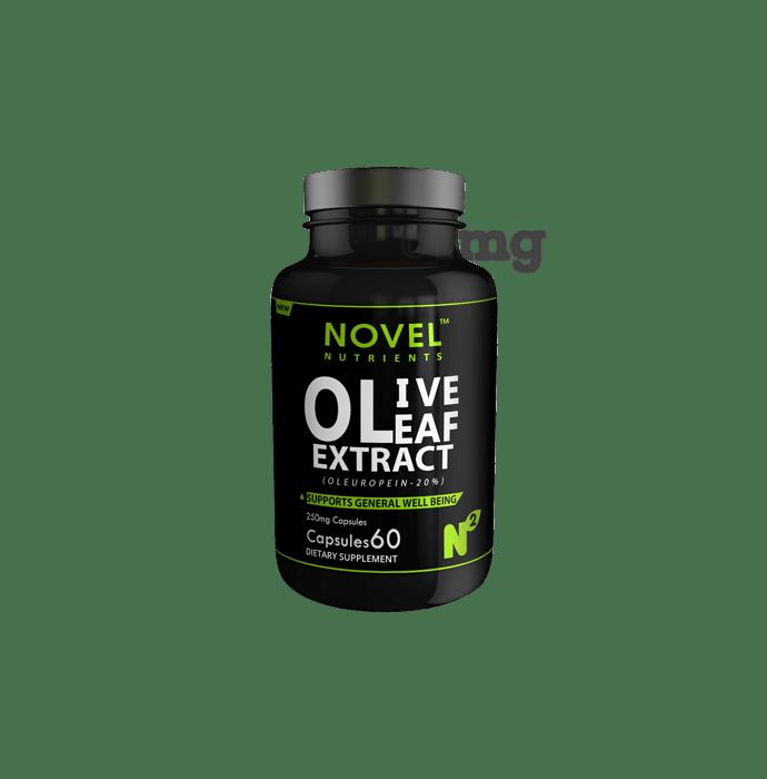 Novel Nutrients Olive Leaf Extract (Oleuropein-20%) 250mg Capsule