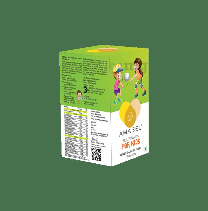 Amabel Multivitamins & Minerals For Kids Tablet