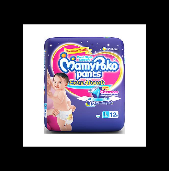 Mamy Poko Extra Absorb Diaper L