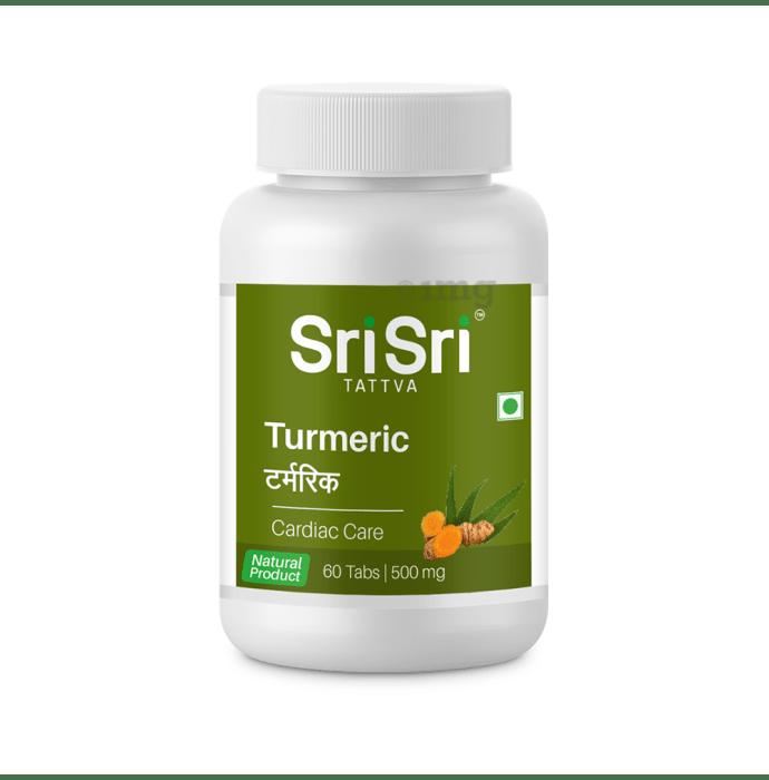Sri Sri Tattva Turmeric 500mg Tablet