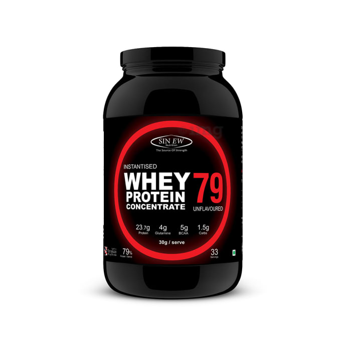 Sinew Nutrition 79% Instantised Raw Whey Protein Powder Unflavoured