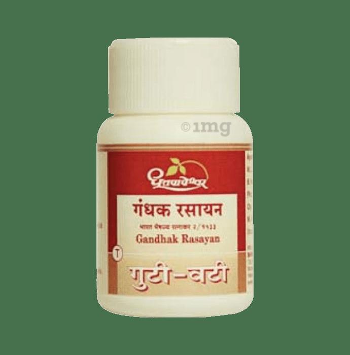 Dhootapapeshwar Gandhak Rasayan Tablet