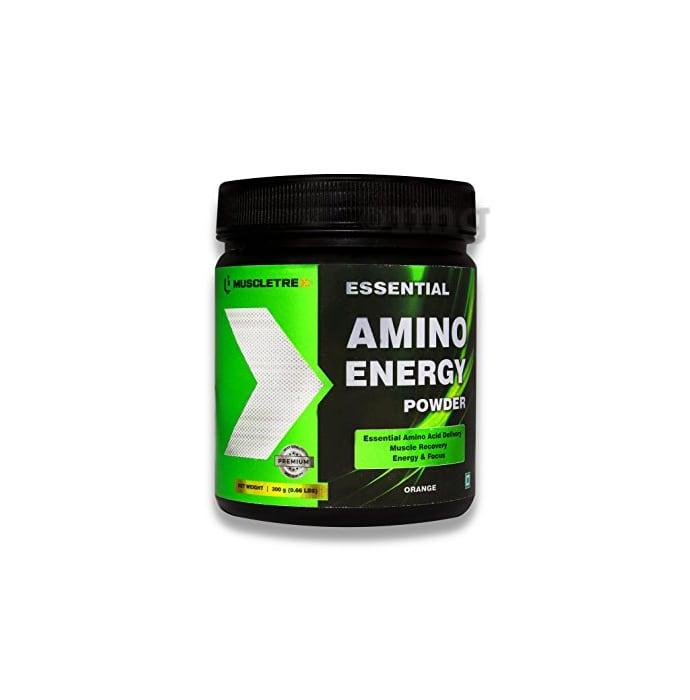 Muscletrex Essential Amino Energy Powder Orange