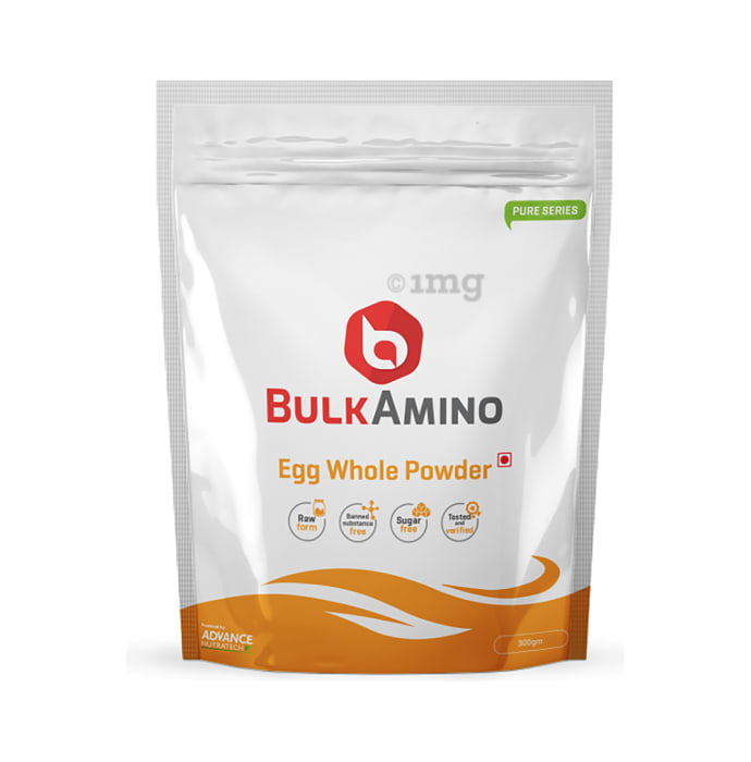 Advance Nutratech BulkAmino Egg Whole Powder Unflavoured