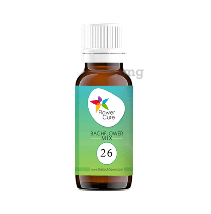 Bach Flower Mix 26 Breathing Problems Drop