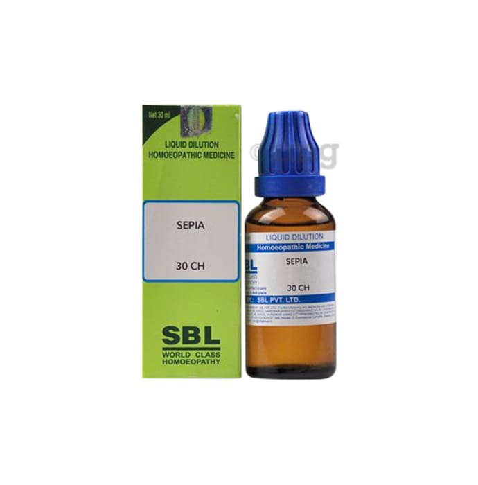 SBL Sepia Dilution 30 CH
