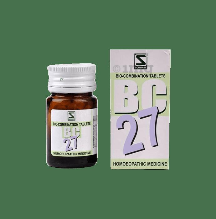 Dr Willmar Schwabe India Bio-Combination 27 (BC 27) Tablet