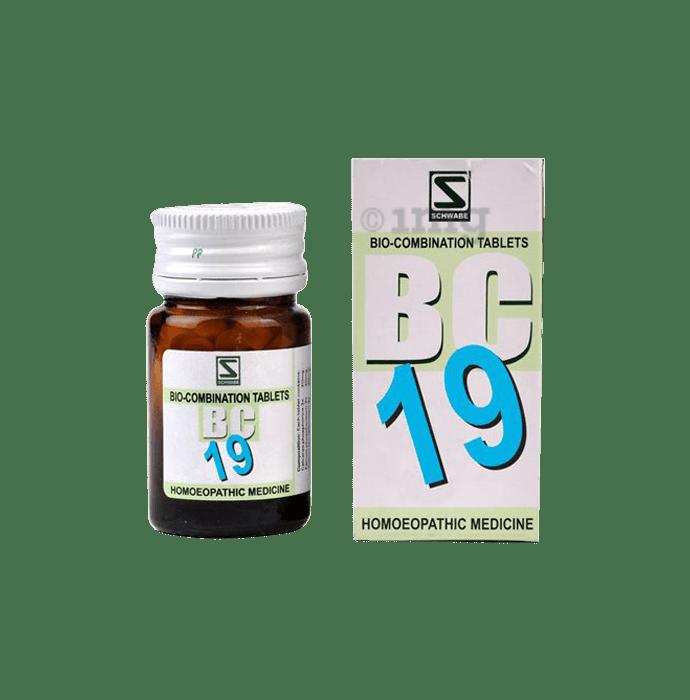 Dr Willmar Schwabe India Bio-Combination 19 (BC 19) Tablet