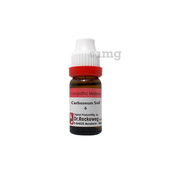 Dr. Reckeweg Carboneum Sulph Dilution 6 CH