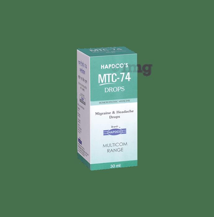 Hapdco MTC-74 Migraine & Headache Drop