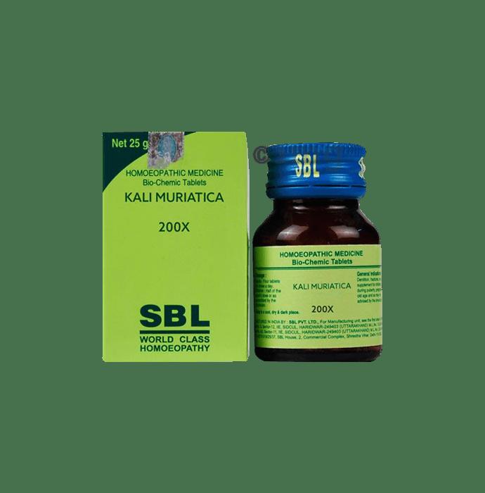 SBL Kali Muriatica Biochemic Tablet 200X