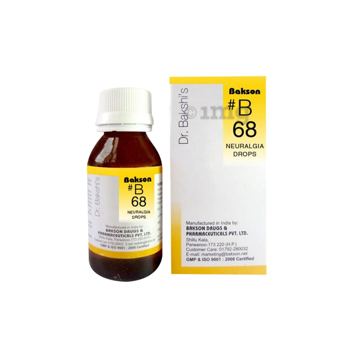 Bakson's B68 Neuralgia Drop