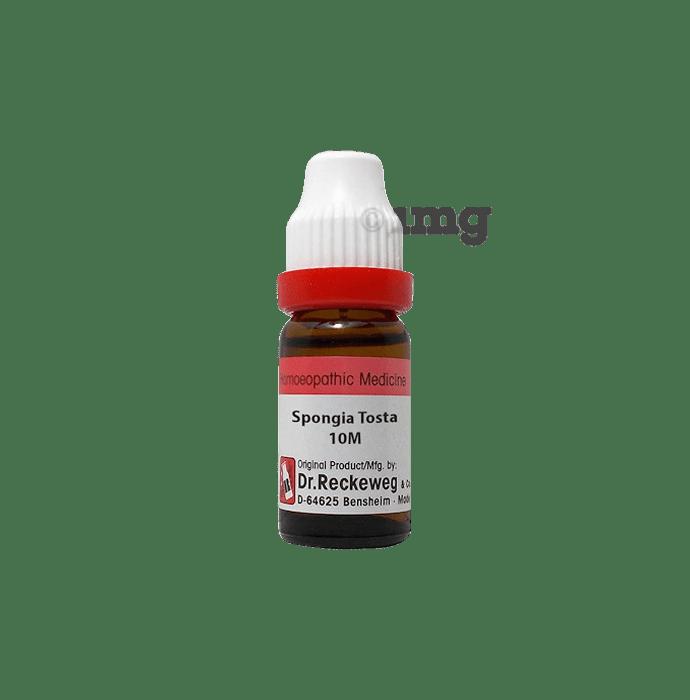 Dr. Reckeweg Spongia Tosta Dilution 10M CH