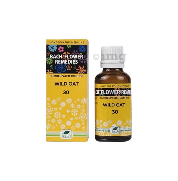 New Life Bach Flower Wild Oat 30
