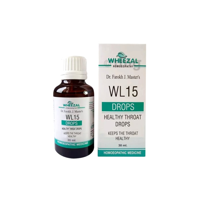Wheezal WL15 Healthy Throat Drop