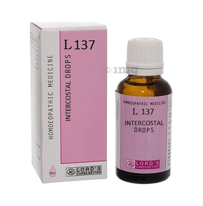 Lords L 137 Intercostal Drop