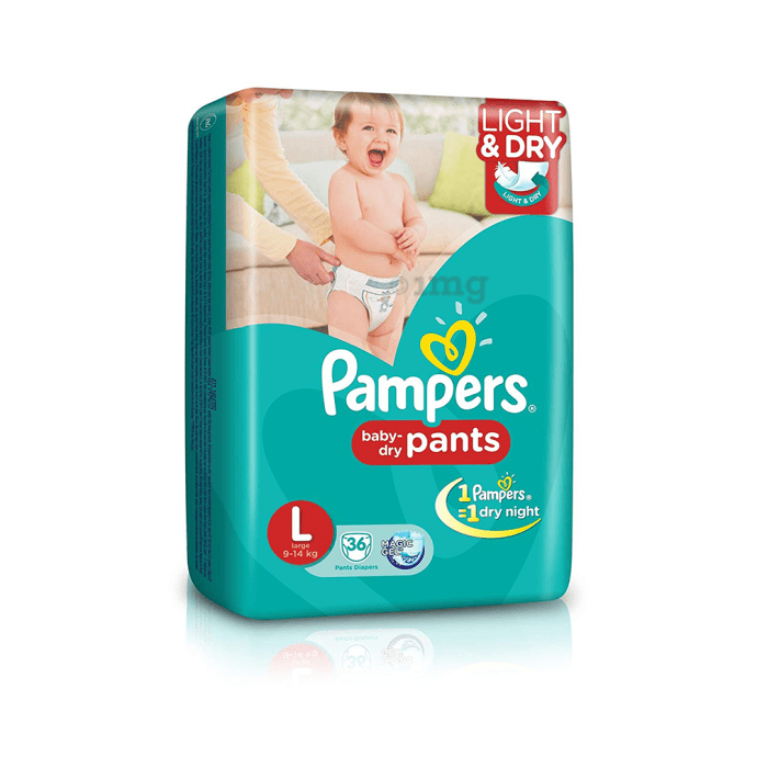 Pampers Baby Dry Pants Diaper L