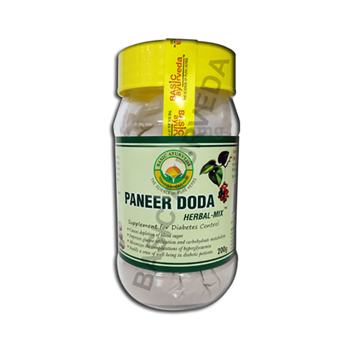 Basic Ayurveda Paneer Doda Herbal Mix Powder
